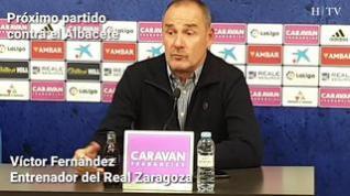 """Víctor Fernández: """"Tenemos que hacer valer que jugamos en casa"""""""
