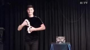 Así es la magia de Ohian Palacín, el joven que ha fascinado al jurado de 'Got Talent'