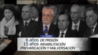 Griñán, condenado a 6 años de cárcel y Cháves y Álvarez, a 9 de inhabilitación
