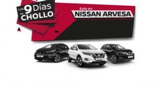 No te pierdas los' 9 Días de Chollo' en Nissan Arvesa... hasta el 30 de noviembre