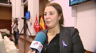 """Nadia Otmani sobre Ortega Smith: """"Aquí hoy se venía a conmemorar a las víctimas""""La víctima de la violencia machista que hizo frente al secretario general de Vox recibió un disparo en la médula al defender a su hermana de un ataque"""