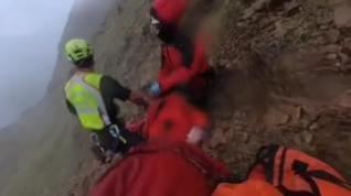 Así fue el rescate más complicado realizado por la Guardia Civil este verano en el Pirineo