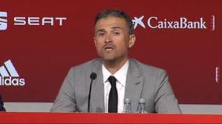 """Luis Enrique: """"El único responsable de que Robert Moreno no esté en mi staff soy yo"""""""