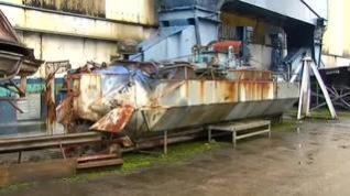 Así era el primer narcosubmarino fue detectado en Galicia en 2006
