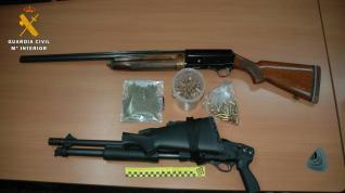 La Guardia Civil desarticula un grupo que vendía droga en la comarca del Bajo Aragón-Caspe