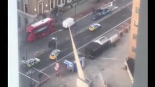 Atentado terrorista junto al puente de Londres