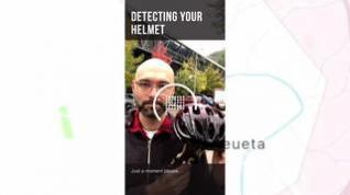 Un selfi con casco para tener descuento en patiente