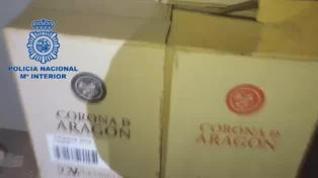 Cinco detenidos por el robo de 5.000 botellas de vino en una nave de Cuarte