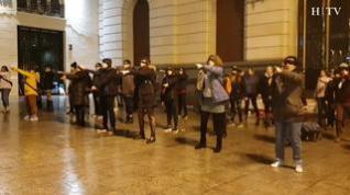 """""""El violador eres tú"""", himno de las jóvenes chilenas, llega a Zaragoza"""