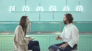 El consultor gastronómico Martín Goldman charla con la periodista Leticia Buendía sobre cómo alimentar a los más pequeños.