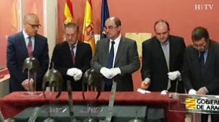 Los cascos de Aranda se expondrán cuando acaben las obras del Museo de Zaragoza