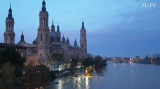 La punta de la crecida del Ebro llegará a lo largo del día
