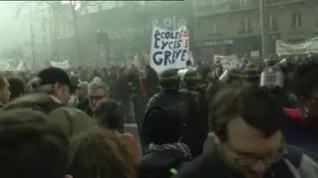 Nuevo día de huelga general en Francia contra la reforma de las pensiones