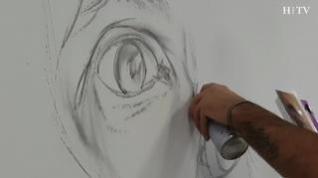 Ibercaja inaugura su Espacio Joven con una exposición del artista urbano Belin