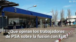 ¿Qué opinan los trabajadores de Figueruelas de la nueva fusión entre PSA y Fiat?