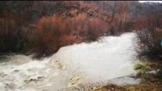 Así pasa el río Baliera por Montanuy