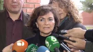 Calvo apela al diálogo con ERC y señala al PP como responsable de la crisis política en Cataluña