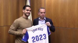 Javi Ros prorroga su capitanía en el Real Zaragoza hasta 2023