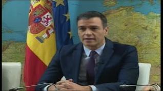 """Sánchez felicita a las tropas por Navidad: """"Os queremos sanos y salvos"""""""