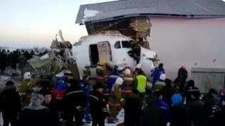 Al menos 15 muertos en un accidente aéreo en Kazajistán