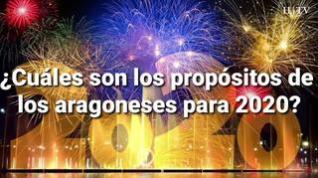 Cumplir los propósitos, lo más difícil para los aragoneses en el nuevo año