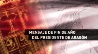 Lambán pone de ejemplo el gobierno de Aragón en su discurso de fin de año