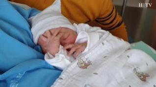 Se llama Paula, ha pesado 3 kilos y es el primer bebé aragonés de 2020