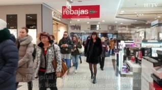 Comienzan las rebajas de enero en Zaragoza