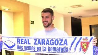 """André Pereira: """"Tengo muchas ganas de ayudar al Real Zaragoza a conseguir su objetivo"""""""