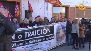 Éxito de la manifestación en Andorra exigiendo alternativas de empleo