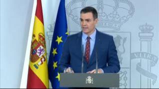 """Pedro Sánchez: """"El Gobierno hablará con varias voces pero con una misma palabra"""""""