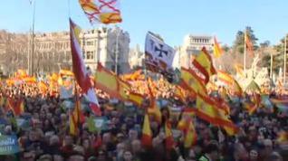 Concentraciones contra el gobierno de Pedro Sánchez