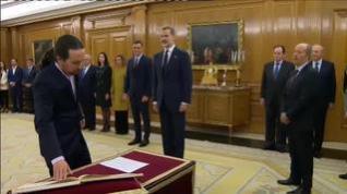 Las ministras y ministros de Podemos prometen su cargo ante el Rey