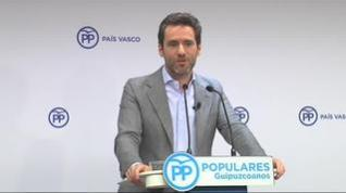 """Borja Sémper: """"Me incomoda mucho un clima de confrontación en la política"""""""