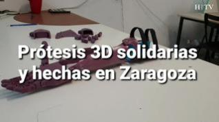 Prótesis 3D solidarias y hechas en Zaragoza