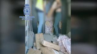 La Policía detiene a 18 personas y desmantela una red de transporte de hachís en Zaragoza