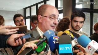 """Javier Lambán, presidente de Aragón: """"No tengo intención de reunirme con Torra"""""""