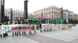 Los jardineros de FCC inician este lunes la primera huelga del gobierno de Azcón