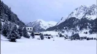 La nieve vuelve al Pirineo