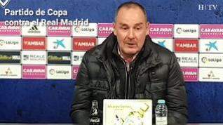 """Víctor Fernández: """"La prioridad es la liga"""""""
