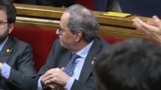 Torra anuncia que convocará elecciones sin concretar la fecha