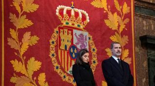 Funeral por la infanta Pilar en el Escorial.