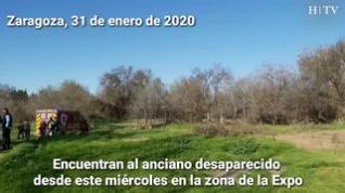 Encuentran a orillas del Ebro al anciano desaparecido este miércoles en Zaragoza
