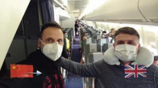 Los veinte españoles atrapados en Wuhan logran poner fin a su pesadilla