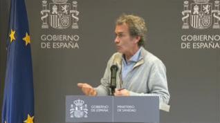 Fernando Simón informa de la particularidad del primer positivo por coronavirus en España