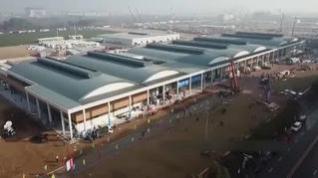Así se han construido, en tiempo récord, los dos nuevos hospitales en Wuhan (China)