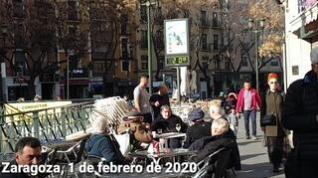 Terrazas llenas en Zaragoza... ¡el 1 de febrero!