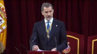 """Felipe VI: """"España no puede ser de unos contra otros"""""""