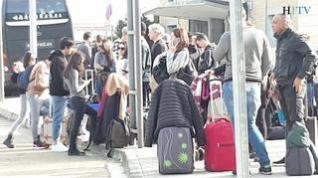 Desviados al aeropuerto de Zaragoza cinco vuelos desde Barajas por la presencia de drones