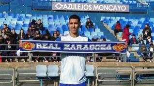 """El Yamiq, jugador del Real Zaragoza: """"Nuestro objetivo es jugar en primera división"""""""